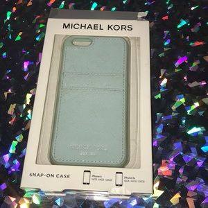 Michael Kors iPhone 6 Snap case and card holder